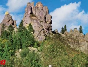 Лучшие места Украины: Тустань - город-крепость
