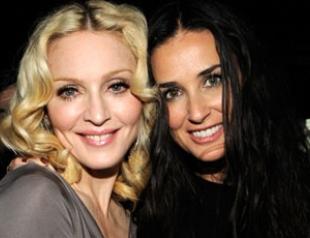 Мадонна против развода Деми Мур