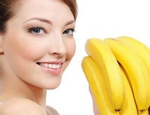 Целебная банановая маска