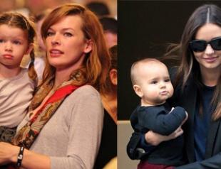 Детки супермоделей и их красавицы мамы