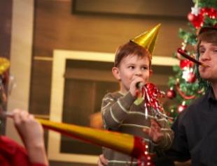 Поздравления с Новым годом детям