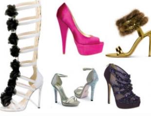 Самая модная обувь новогоднего сезона