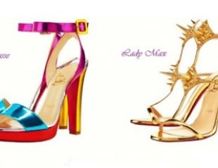 Обувь Christian Louboutin весна-лето 2012