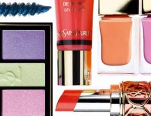 Весенняя коллекция макияжа Candy Face от YSL