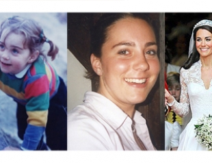 Кейт Миддлтон 30 лет: детские и юношеские фото