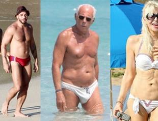Звездные каникулы: пляжные образы знаменитостей