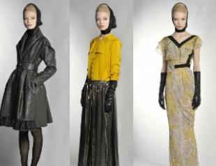 Коллекция Гальяно Pre-Autumn-Fall 2012