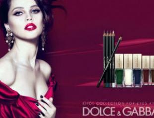 Коллекция макияжа Dolce & Gabbana весна 2012