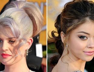 SAG Awards-2012: лучшие прически знаменитостей