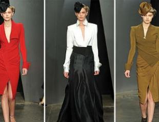 Неделя моды в Нью-Йорке: Donna Karan