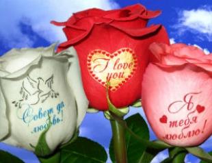 Говорящие цветы: подарок к 8 Марта