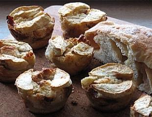 Завтрак: порционная шарлотка