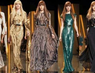 Неделя моды в Париже: женственность от Elie Saab