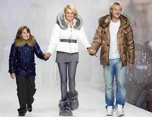 Volvo-Неделя моды: показ Рудковской и Плющенко