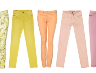 Самые модные джинсы весна-лето 2012
