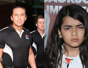Телохранитель Джексона - отец его ребенка?