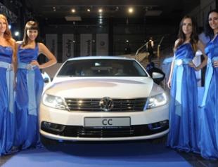 Модная презентация новой модели Volkswagen CC