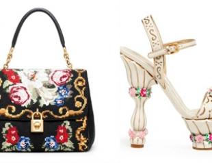 Аксессуары Dolce&Gabbana осень-зима 2012-2013