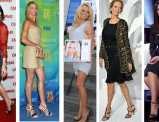 Знаменитые женщины с огромным размером ноги