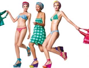 Яркая пляжная коллекция Undercolors of Benetton