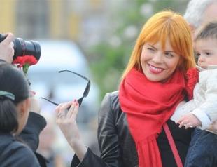 Анастасия Стоцкая показала сына. Фото