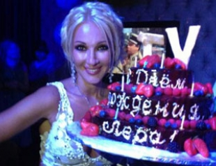Лера Кудрявцева напилась на своем Дне рождения. Фото