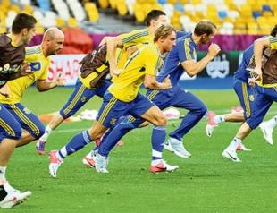 Сборная Украины 13 июня приглашает на открытую тренировку