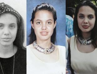 Опубликованы раритетные фото Анджелины Джоли в молодости