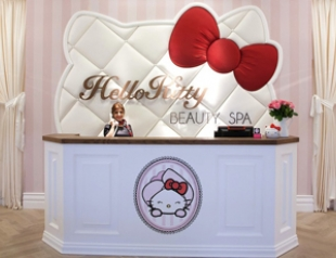 Открылся первый в мире спа-салон Hello Kitty. Фото
