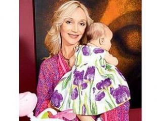 Орбакайте провела первую фотосессию с дочкой. Фото