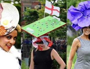 Самые оригинальные шляпки скачек Royal Ascot. Часть 1