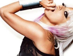 Леди Гага снялась для мужского журнала