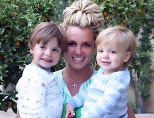 Как растут дети Бритни Спирс. Фото