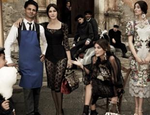 Моника Белуччи и Ко в рекламной кампании Dolce&Gabbana