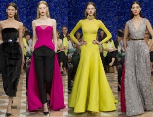 Неделя высокой моды в Париже: показ Christian Dior