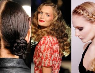 Модные прически для длинных волос лета 2012