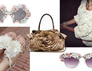 Модный тренд: объемные розы