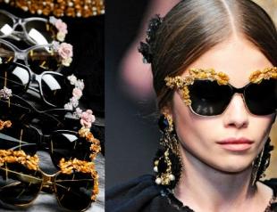 Мастер-класс: очки в стиле Dolce&Gabbana