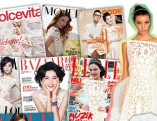 Кружевное платье Louis Vuitton назвали самым модным в этом сезоне
