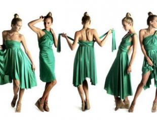 Летний must have: платье-трансформер