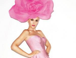 Гвен Стефани снялась в розовой фотосессии