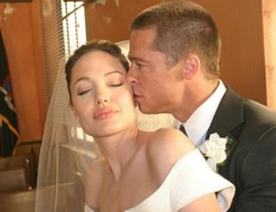 Завтра состоится свадьба Анджелины Джоли и Брэда Питта