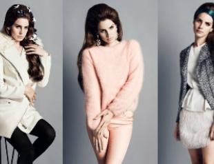 Лана Дель Рей в рекламной кампании H&M. Фото