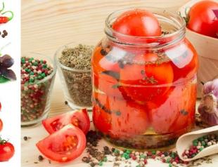 Мастер-класс: консервированные помидоры по-итальянски