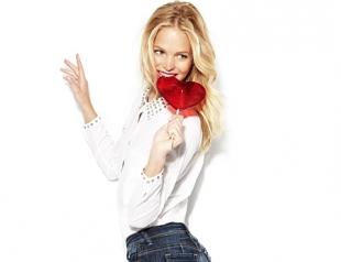 Романтический лукбук джинсовой коллекции. Фото