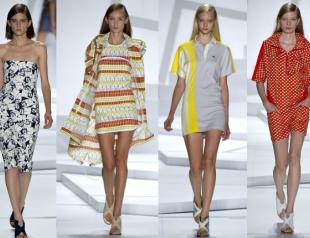 Неделя моды в Нью-Йорке: показ Lacoste