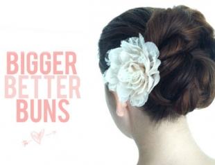 Мастер-класс: свадебная прическа с цветком. Фото