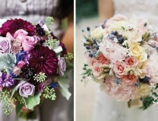 Модные свадебные букеты-2012. Фото