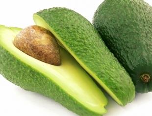 Аппетитная маска из авокадо