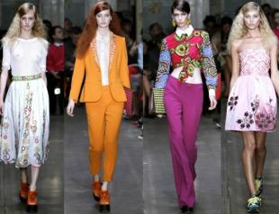 Неделя моды в Лондоне: показ Moschino Cheap&Chic